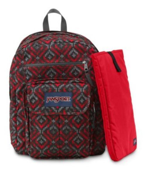 JANSPORT ジャンスポーツ バックパック リュックサック DIGITAL STUDENT HIGH RISK RED SHADY ANGLES  バッグ カバン