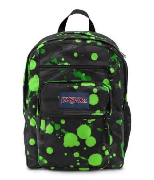 JANSPORT ジャンスポーツ バックパック リュックサック BIG STUDENT ZAP GREEN SUPER SPLASH  バッグ カバン
