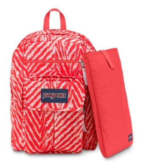JANSPORT ジャンスポーツ バックパック リュックサック DIGITAL STUDENT CORAL PEACHES WILD AT HEART  バッグ カバン