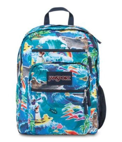 ジャンスポーツ JANSPORT BIG STUDENT BACKPACK MULTI WET SLOTH  バッグ 鞄 リュックサック バックパック