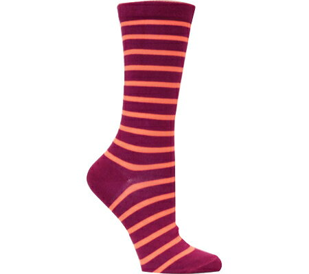 オゾン Ozone Stripes and Neon Socks and Shoelaces (2 Pairs) - Eggplant ソックス 靴下