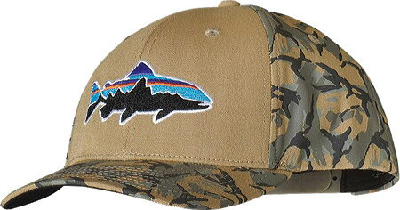 パタゴニア Patagonia Roger That Hat - Fitz Roy Trout Classic Tan 帽子 キャップ