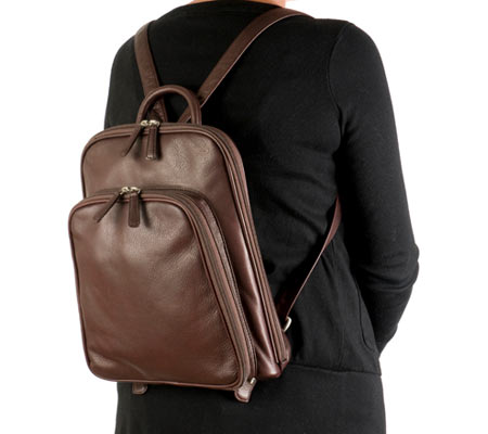 Osgoode Marley Cashmere Large Organizer Backpack - Brandy バッグ 鞄 かばん バックパック リュックサック
