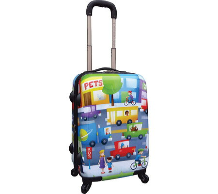 Curtis Publishing 20 Expandable 4-Wheel Carry-On バッグ 鞄 かばん