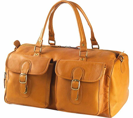 クラヴァ Clava AG07 Two Pocket Duffel - Vachetta Tan バッグ 鞄 かばん