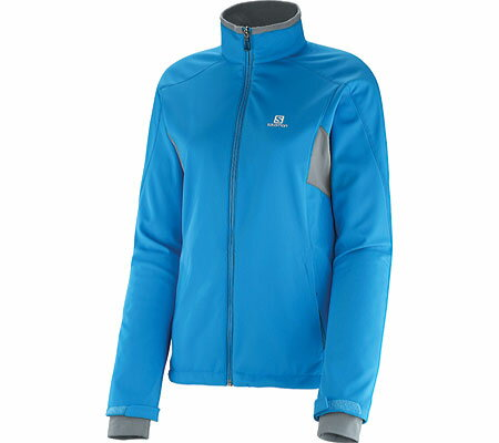 サロモン Salomon Active Softshell Jacket - Methyl Blue コート 冬着 ジャケット