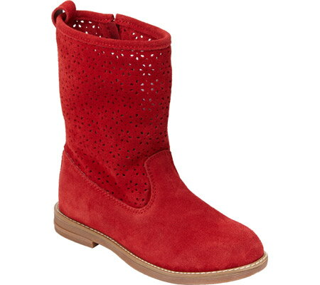 Hanna Andersson Karla - Apple Red Suede 子供 キッズ シューズ 靴