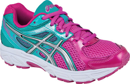 アシックス ASICS GEL-Contend 2 GS - Hot Pink Lightning Emerald 子供 キッズ シューズ 靴