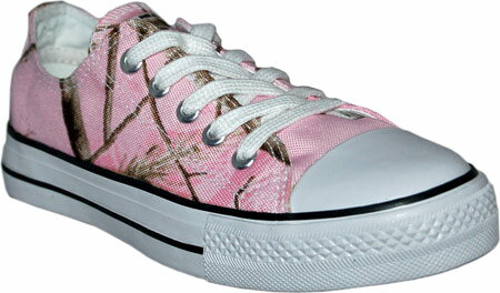 Itasca Alumni RT AP Tennis Casual - Real Tree Pink Camo Canvas 子供 キッズ シューズ 靴