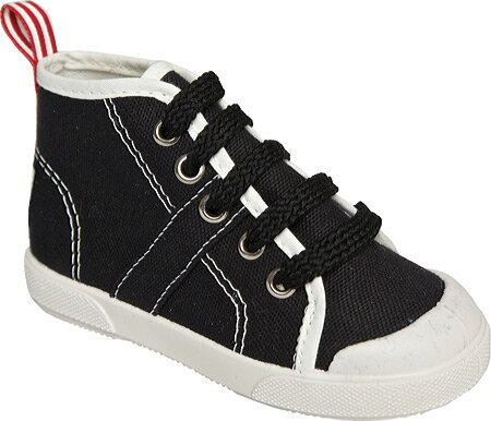 United Shoes of America Wally - Black Off White 子供 キッズ シューズ 靴