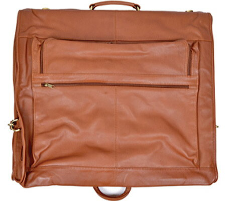 ロイス レザー Royce Leather Carry-On All Leather Suiter 659-3 - Tan Leather バッグ 鞄 かばん