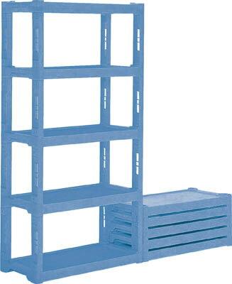 サンコー プラスチック棚ーL4 灰【805953GL】 販売単位:1台(入り数:-)JAN[4983049918283](サンコー プラスチック棚) 三甲(株)【05P03Dec16】