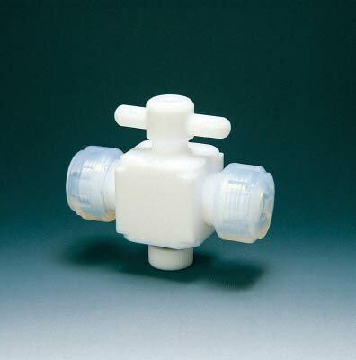 フロンケミカル 二方バルブ接続6mm【NR002801】 販売単位:1個(入り数:-)JAN[4562305540057](フロンケミカル 特殊継手) (株)フロンケミカル【05P03Dec16】