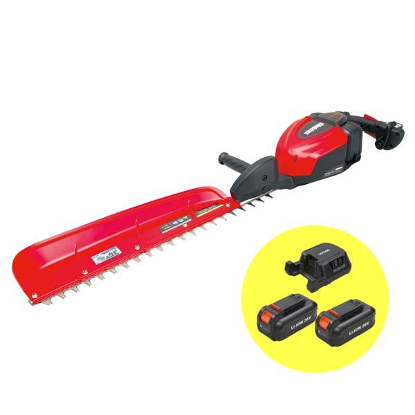 【SHINDAIWA/新ダイワ】バッテリー式ヘッジトリマー BHT160-740/2B(本体&バッテリー2個&充電器1個)[電動/ヘッジトリマー/バリカン/エンジンタイプ]