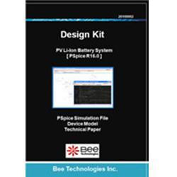 ビー・テクノロジー SPICE デザインキット バッテリー回路(リチウムイオン電池) 【Design Kit 010】