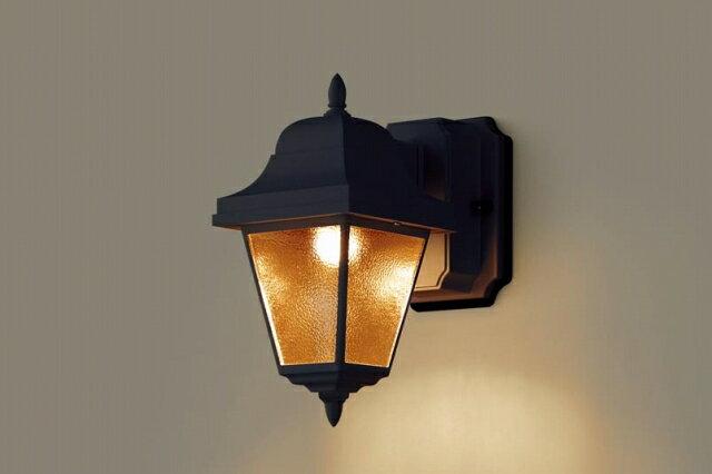 パナソニック 照明 壁直付型 LED(電球色) ポーチライト 60形電球1灯相当・密閉型・拡散タイプ 防雨型 【LGW80232LE1】[新品]【RCP】