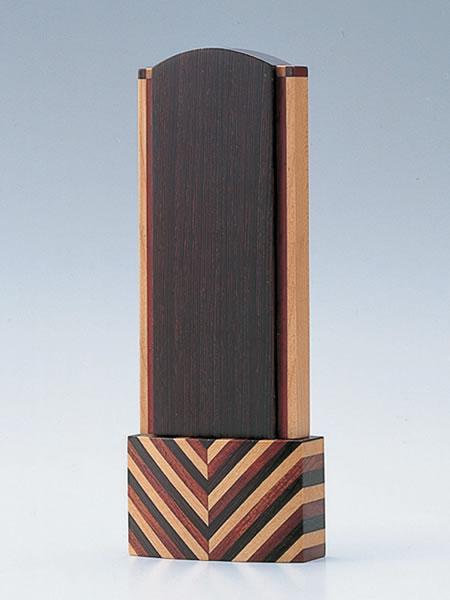 【現代仏壇・仏具・家具調仏壇・モダン仏壇に最適】位牌 モンブラン 4.5寸