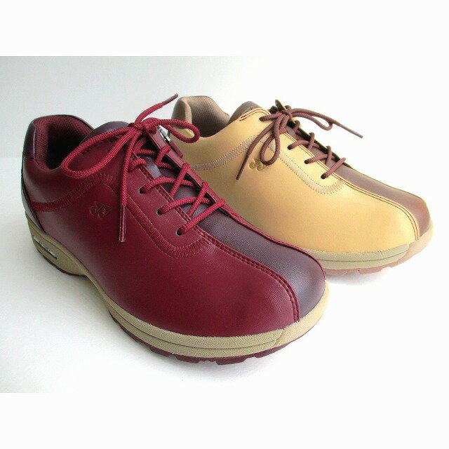 機能的で大活躍 [ヨネックス]【履くほどに愛着が湧く、手放せない1足になりそう。】【YONEX】パワークッション SHW-LC81 レディース カジュアルウォーク ウォーキングシューズ 天然皮革 パンプス ローヒール スクエアトゥ 仕事靴 通勤靴(037)ワインレッド?(147)ベージュ