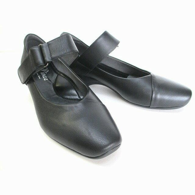 [ピサ]【履くほどに愛着が湧く、手放せない1足になりそう。】 Pisaz pisaz 2138 レディース ストラップパンプス 仕事靴 通勤靴 ブラック