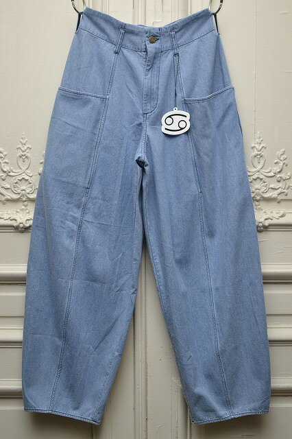 69 SIXTYNINE  シックスティナイン BELL PANTS    col.MEDIUM LIGHT DENIM