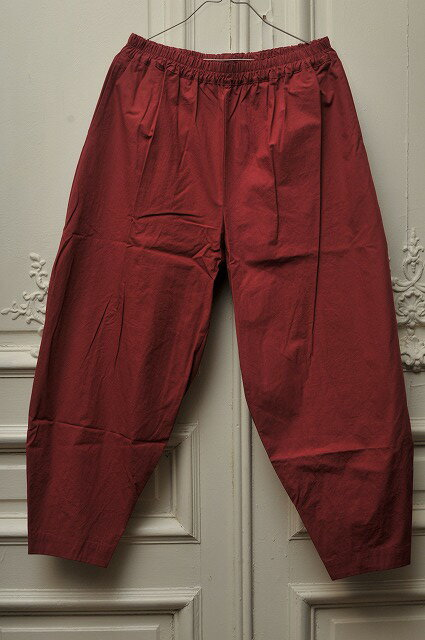 toogood トゥーグッド  THE ACROBAT TROUSER COTTON PERCALE  col.BARN
