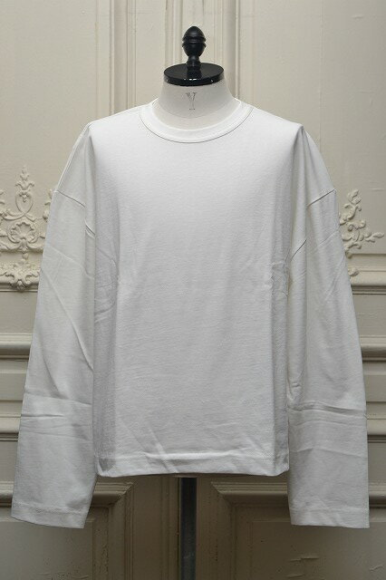 WILLY CHAVARRIA ウィリーキャバリア L/S Oversized BUFFALO TEE  col.WHITE