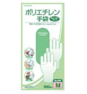 ポリエチレン手袋 100枚入 Mサイズ(40セット)/ 東和コーポレーション