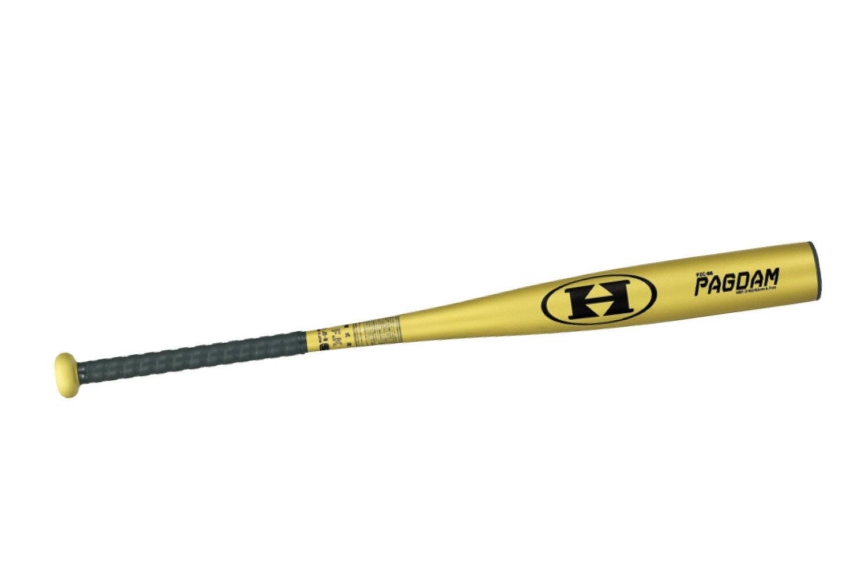 HI-GOLD(ハイゴールド) 一般硬式野球用金属バット(高校硬式対応) PAGDAM イエローゴールド 84cmHBT-3184