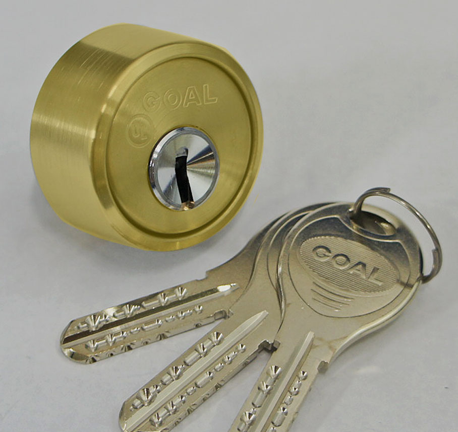ゴール V-18 LX、LGシリンダー 逆マスター装置付/ゴールド(金21色)