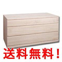 【代引料・送料無料】桐クロ-ゼット幅100 3段 HI-0018【smtb-s】