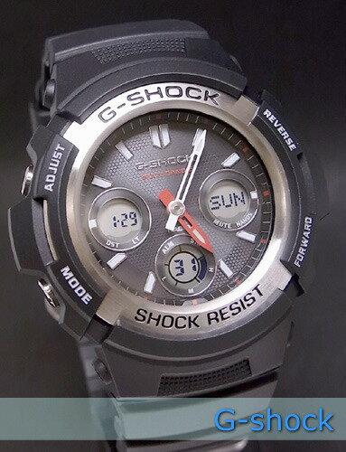 【7年保証】G-SHOCK メンズ 男性用ソーラー電波腕時計【AWG-M100-1AJF】(国内正規品)