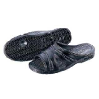 【まとめ買い10個セット品】『 業務用靴 サンダル 』紳士用 健康サンダル 黒 LL