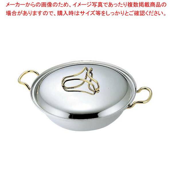 プロデンジ ちり鍋(取手・つまみ金仕上)27cm