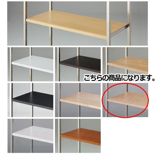 木棚セット W120cmタイプ シナ×積層単板【店舗什器 パネル ディスプレー 棚 店舗備品】