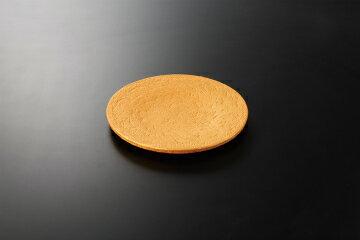 【まとめ買い10個セット品】和食器 黄金石 砂目8寸皿 35K126-12 まごころ第35集 【キャンセル/返品不可】
