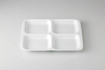 【まとめ買い10個セット品】和食器 白洋陶 13吋四ツ仕切皿 35A478-08 まごころ第35集 【キャンセル/返品不可】