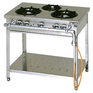 マルゼン スタンダードタイプガステーブル〔MGT-096CS〕 【 厨房機器 】 【 メーカー直送/代引不可 】