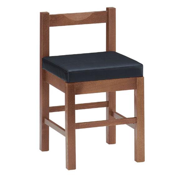 八宝D椅子 黒レザー | 張地:クレンズII 6291 シンコール 【メーカー直送品&代金引換決済不可商品】