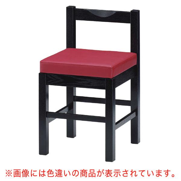 八宝B椅子 黒レザー    張地:クレンズII 6291 シンコール 【メーカー直送品&代金引換決済不可商品】
