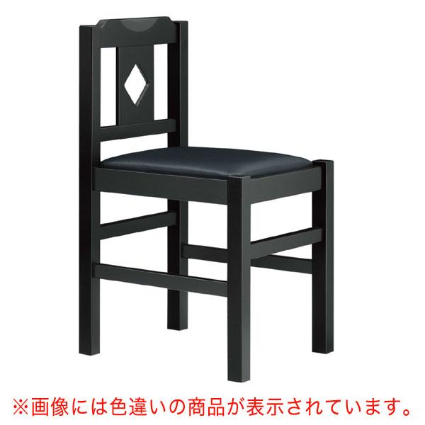 菱江B椅子 茶レザー  | 張地:オールマイティー 6439 シンコール 【メーカー直送品&代金引換決済不可商品】