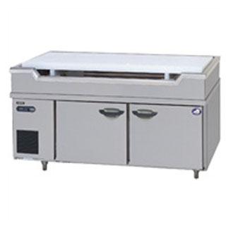 パナソニック 舟形シンク付冷蔵庫GAシリーズ SUR-GL1561SA-S 1500×600×800mm 184L SUR-GL1561SA-Sbr【 業務用冷蔵庫 横型冷蔵庫 業務用横型冷蔵庫 台下冷蔵庫 コールドテーブル 】