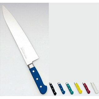 堺實光 STD抗菌PC 牛刀[両刃] 18cm 黒