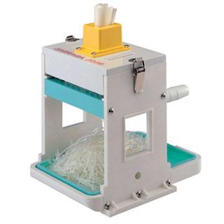 千葉工業所 『 万能調理機 ねぎ切 』業務用 手動シラガ 2000芯なしタイプ