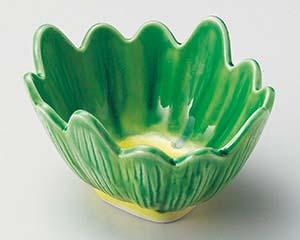 【まとめ買い10個セット品】和食器 ミ050-086 軟解釉菊型小鉢 【キャンセル/返品不可】