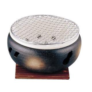 『 コンロ(卓上) 水コンロ 』伊勢炭焼 水コンロ 大 10号[卓上鍋関連品]