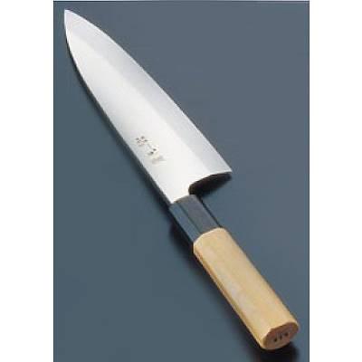 『 和包丁 出刃包丁 』酔心 イノックス本焼和庖丁 出刃 18cm片刃 45037