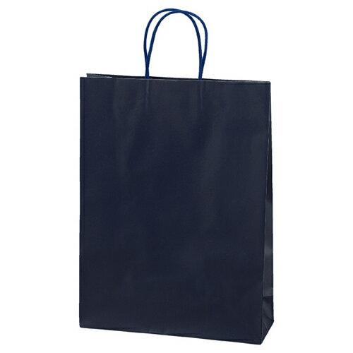 マットバッグ ネイビー 32×11×43 100枚【店舗備品 包装紙 ラッピング 袋 ディスプレー店舗】