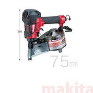 【 マキタ 電動工具 】 75mm 高圧エア釘打 【AN711H】 【エアー釘打機 】  【 DIY 作業用 工具 プロ 愛用 】 【 電動工具 関連品 】 メイチョー