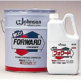 【 業務用 】ジョンソン 濃縮強力クリーナー 無リンフォワード 18L