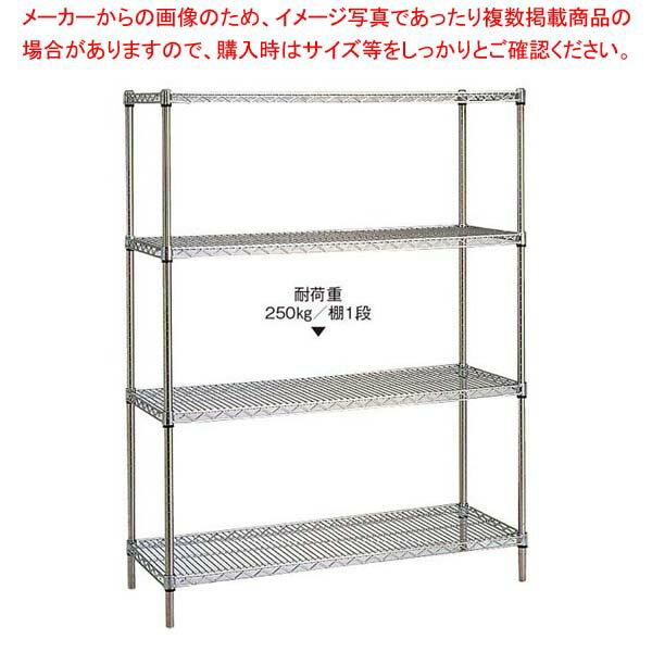 【 業務用 】スーパーエレクターシェルフ 5段 P2200×LS1520【 メーカー直送/代金引換決済不可 】